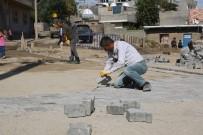 Cizre'de Kış Öncesi Kilitli Parke Çalışmaları Başlatıldı