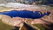 Doğa Harikası Üçkaya Gölü Sonbaharda Bir Başka Güzel