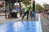BİSİKLET YOLU - Düzce'de İstanbul Caddesi Yeni Yüzüne Kavuşuyor