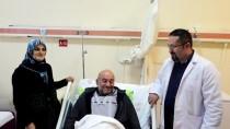 SARP SINIR KAPISI - Ermenistan'da Kalp Krizi Geçiren Tır Şoförü Rize'de Sağlığına Kavuştu