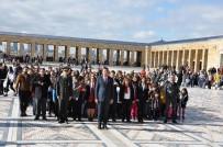 29 EKİM CUMHURİYET BAYRAMI - GKV'li Öğrenciler Anıtkabir'i Ziyaret Etti