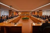GMİS Genel Başkanı Yeşil, Başkanlar Kurulu Toplantısında