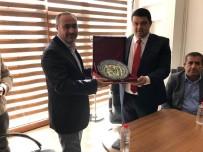 İl Genel Meclis Üyeleri, Kapadokya Havalimanı Müdürü Serdar Yılmaz'ı Ziyaret Etti
