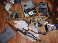 KAÇAK SİLAH - Kaçak Silah Ürettiler Açıklaması Ankara Organize Ekipleri Patlattı