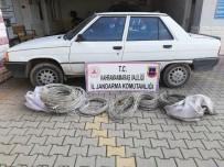 Kahramanmaraş'ta Kablo Hırsızı 3 Kişi Yakalandı