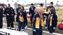 Karabük'te Cenaze Dönüşü Kaza Yapan Otomobildeki 4 Kişi Yaralandı