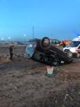 Kars'ta Trafik Kazası Açıklaması 1 Yaralı