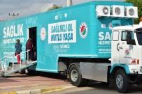 TEMİZLİK GÖREVLİSİ - Kepez'in Kanser Tarama Tırı Ünsal'da