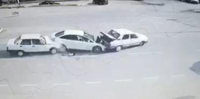 Köpeğe çarpmamak için yavaşladı... 1 ölü 1 yaralı