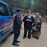 Mantar Toplarken Kaybolan Zihinsel Engelli Kızı Jandarma Ekipleri Buldu