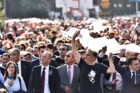 Muratpaşa'dan  'Saygı Yürüyüşü'