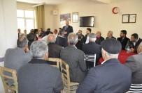 AK Parti Tunceli İl Başkanı Tek, Ovacık'ta Vatandaşlarla Bir Araya Geldi