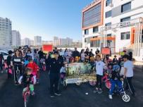 BİSİKLET TURU - Anaokulu Öğrencileri Sağlıklı Yaşam İçi Pedal Çevirdi
