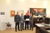 Arif Güler'e 'Fahri Hemşehrilik' Beratı