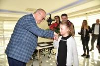 Başkan Ergün'den Küçük Alara'yı Ağırladı