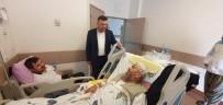 Başkan Özen, Hasta Ziyaretlerini Aksatmıyor