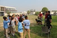 POLİS KÖPEĞİ - Çocuklar Polis Birimlerini Gezdi
