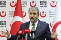 İSTİŞARE TOPLANTISI - Destici'den Kılıçdaroğlu Ve İmamoğlu'na Tepki Açıklaması 'HDP, PKK'nın Partisi Midir Değil Midir?'