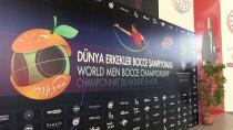 Dünya Erkekler Bocce Volo Şampiyonası, Mersin'de Başladı