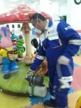 Hakkari Çocuk Oyun Ve Kültür Merkezi Dezenfekte Edildi