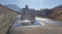 Hakkari'de İçme Suyu İshale Hattı Arızası Giderildi