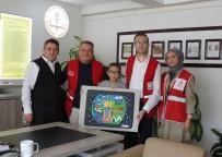 HARMANDALı - Kızılay Yarışmasında Dereceye Girenler Ödüllendirildi