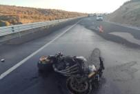Konya'da Motosiklet Kazası Açıklaması 1 Ölü, 1 Yaralı