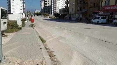 Osmaniye'de Motosiklet Sürücüsünün Yaralandığı Trafik Kazası Güvenlik Kamerasında