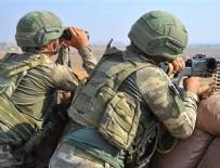 PKK/YPG'li teröristlerden Barış Pınarı Harekat bölgesine 24 saatte 11 saldırı