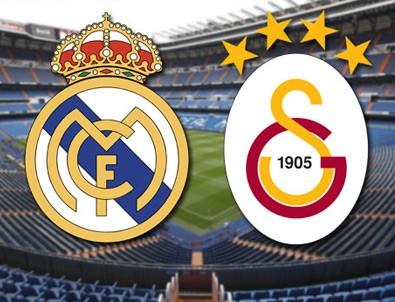 Real Madrid, Galatasaray'a gol yağdırdı!