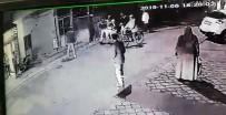 Silahla Ateş Açtılar, Polisi Görüp Kaçarken Kaza Yaptı