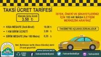 KISA MESAFE - Tatvan'daki 'Ticari Taksilere' Yeni Fiyat Düzenlemesi