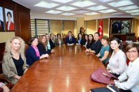 TOBB Antalya Kadın Girişimcilerinden, Başkan Köleoğlu'na Ziyaret