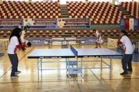 Ağrı'da Sporculara Masa Tenisi Desteği