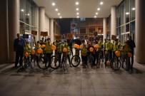 Akhisarlı Bisikletçiler Lösemili Çocuklar İçin Pedal Çevirdi