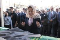 Akşener Kazada Ölen İl Başkanının Cenaze Törenine Katıldı