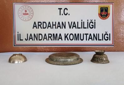 Ardahan'da Tarihi Eser Kaçakçılarına Operasyon