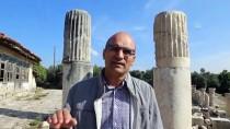 ARKEOLOJİK KAZI - Bir Adımla 2 Bin 200 Yıllık Zaman Yolculuğu