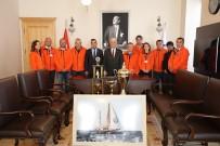 OSMAN GÜRÜN - Bodrum Cup'ın Başarılı Ekibinden Başkan Gürün'e Ziyaret