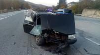 Bursa'da Trafik Kazası Açıklaması 1 Yaralı