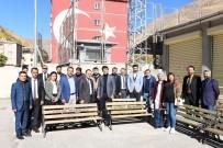 Çatak'taki Okullara 130 Adet Oturma Bankı