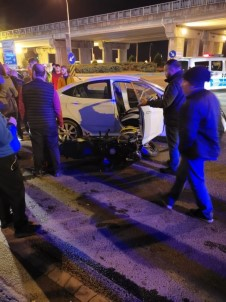 Çaykur Rizespor'lu Dimitris Kaza Yaptı