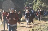 Dursunbey'de Doğa Yürüyüşlerine Yoğun İlgi