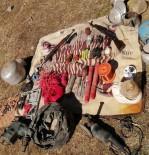 DİNAMİT - Hakkari'de PKK'ya Ait Sığınak Ve Silah Ele Geçirildi