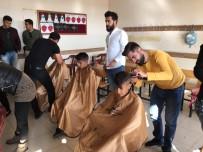 Köy Okullarındaki Çocuklara Ücretsiz Saç Bakımı