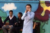 EZİLME TEHLİKESİ - Minik Öğrencinin Ezildiği Kazanın Ardından Yaşan Panik Anları Kamerada