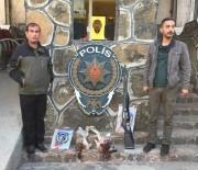 Muş'ta Kaçak Tavşan Avcısı Polise Takıldı