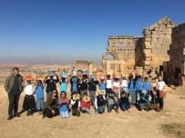 BEŞPıNAR - Öğrenciler Zerzevan Kalesi'ni Gezdi
