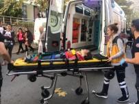 Okul Çıkışında Otomobilin Çarptığı Kız Öğrenci Yaralandı