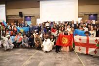 YABANCI ÖĞRENCİLER - Yabancı Öğrenciler, İstiklal Marşı Okudu
